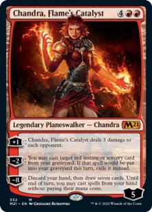 Chandra, Flame's Catalyst (foil)