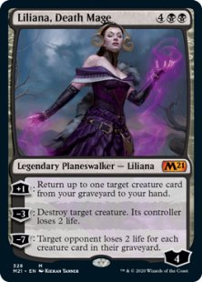 Liliana, Death Mage (foil)