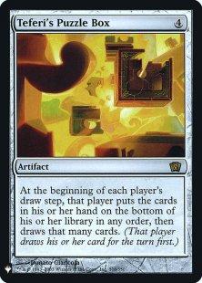 Teferi's Puzzle Box (foil)