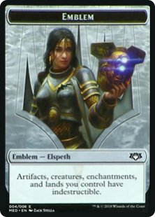 Elspeth, Knight-Errant emblem