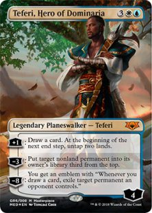 Teferi, Hero of Dominaria (foil)