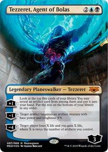 Tezzeret, Agent of Bolas (foil)