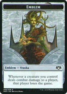 Vraska, Golgari Queen emblem