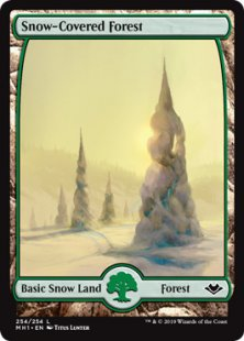 Snow-Covered Forest (full art)