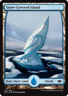Snow-Covered Island (full art)