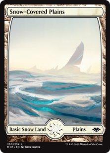 Snow-Covered Plains (full art)