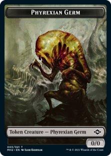 Phyrexian Germ token (0/0)