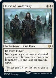 Curse of Conformity