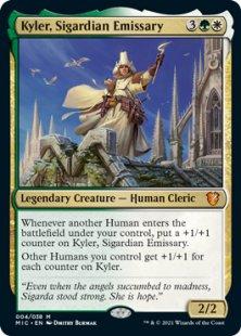 Kyler, Sigardian Emissary (foil)