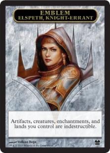 Elspeth, Knight-Errant emblem