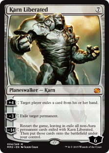 Karn Liberated (foil)