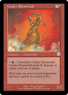 Cinder Elemental (foil)