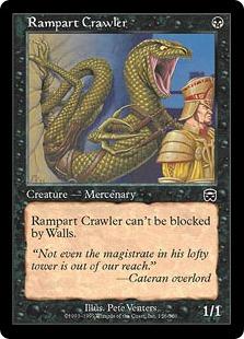Rampart Crawler (foil)