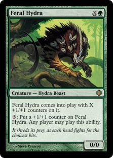 Feral Hydra (oversized)