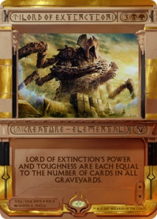 Lord of Extinction (foil)
