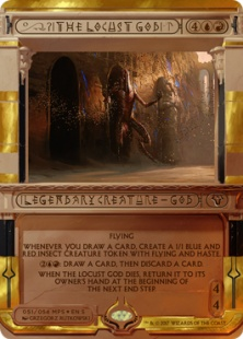 The Locust God (foil)