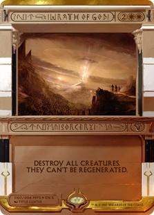 Wrath of God (foil)