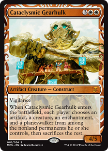 Cataclysmic Gearhulk (foil)
