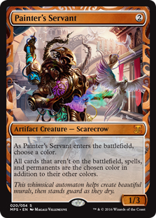 Painter's Servant (foil)