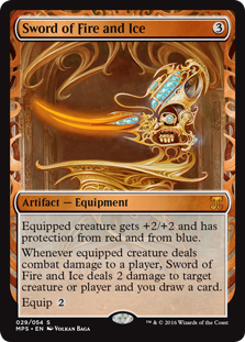 Sword of Fire and Ice (foil)