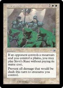 Sivvi's Ruse (foil)