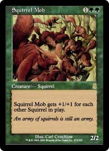 Squirrel Mob (foil)