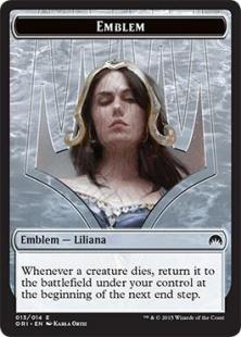 Liliana, Defiant Necromancer emblem