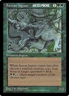 Aswan Jaguar (6x9)