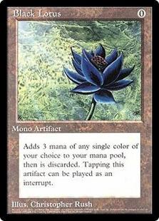 Black Lotus (6x9)
