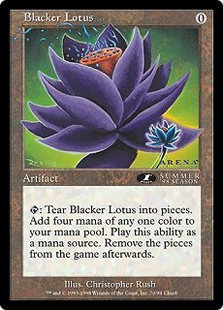 Blacker Lotus (6x9)