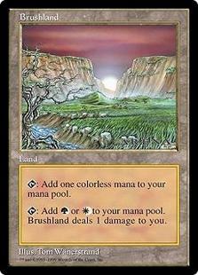 Brushland (6x9) (EX)