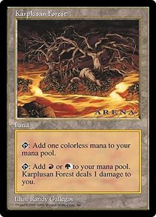 Karplusan Forest (oversized)