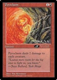 Pyroclasm (oversized)