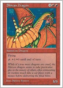 Shivan Dragon (6x9)