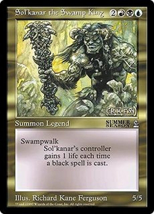 Sol'kanar the Swamp King (6x9)