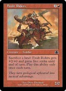 Fault Riders (foil)