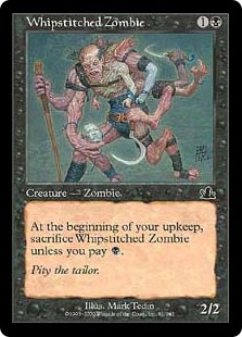 Whipstitched Zombie (foil)