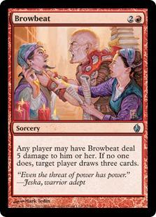 Browbeat (foil)