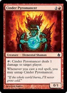 Cinder Pyromancer (foil)