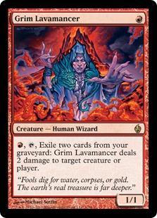 Grim Lavamancer (foil)