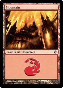 Mountain (4) (foil)