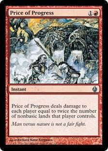 Price of Progress (foil)