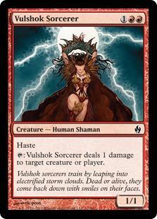 Vulshok Sorcerer (foil)