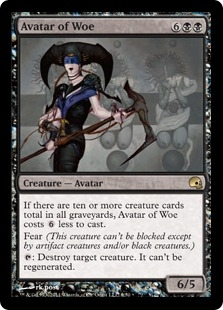 Avatar of Woe (foil)