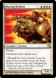 Blazing Archon (foil)