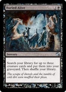 Buried Alive (foil)