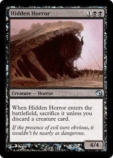 Hidden Horror (foil)