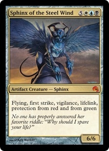 Sphinx of the Steel Wind (foil)