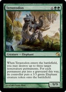Terastodon (foil)