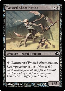 Twisted Abomination (foil)